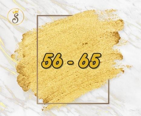 เลขมงคล 56 - 65